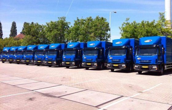 Tien nieuwe Iveco's voor De Klok Logistics