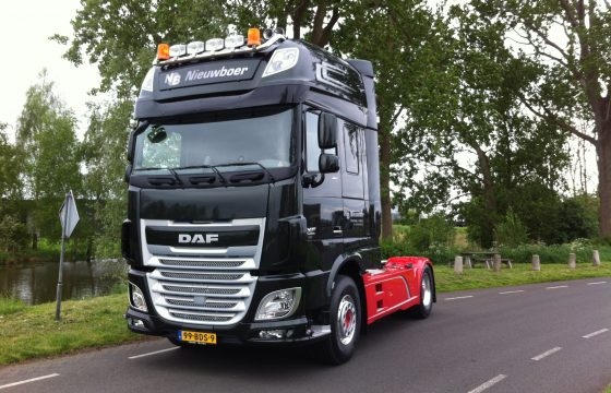 DAF XF Euro 6 voor Nieuwboer Transport