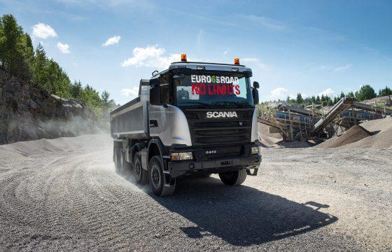 Scania Euro 6 bouwvvoertuigen op TKD
