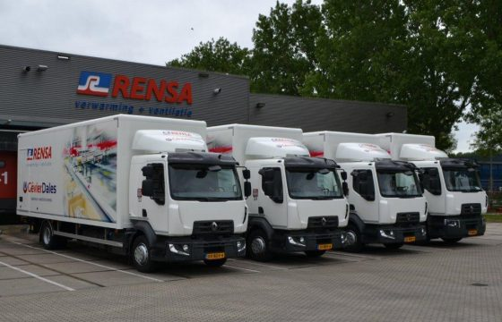 Renault distributietrucks voor Rensa