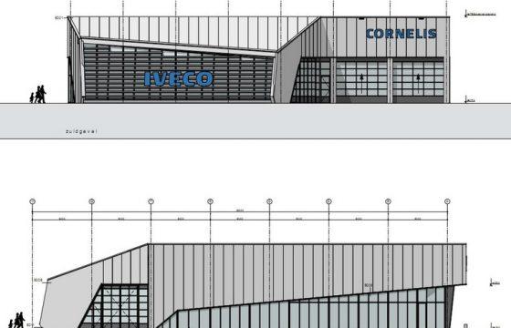 Nieuwbouw Iveco Cornelis te Leeuwarden