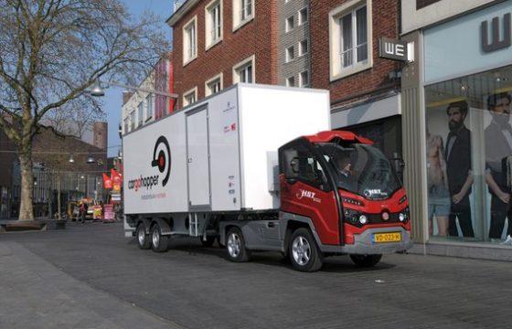 750.000 euro voor project stadsdistributie Brabant
