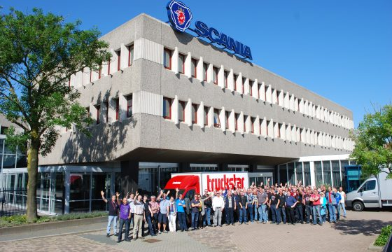Scania fabrieksbezoek succes
