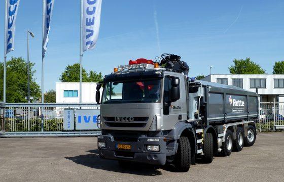 Nieuwe IVECO Trakker 10x4 voor Rutte Groep