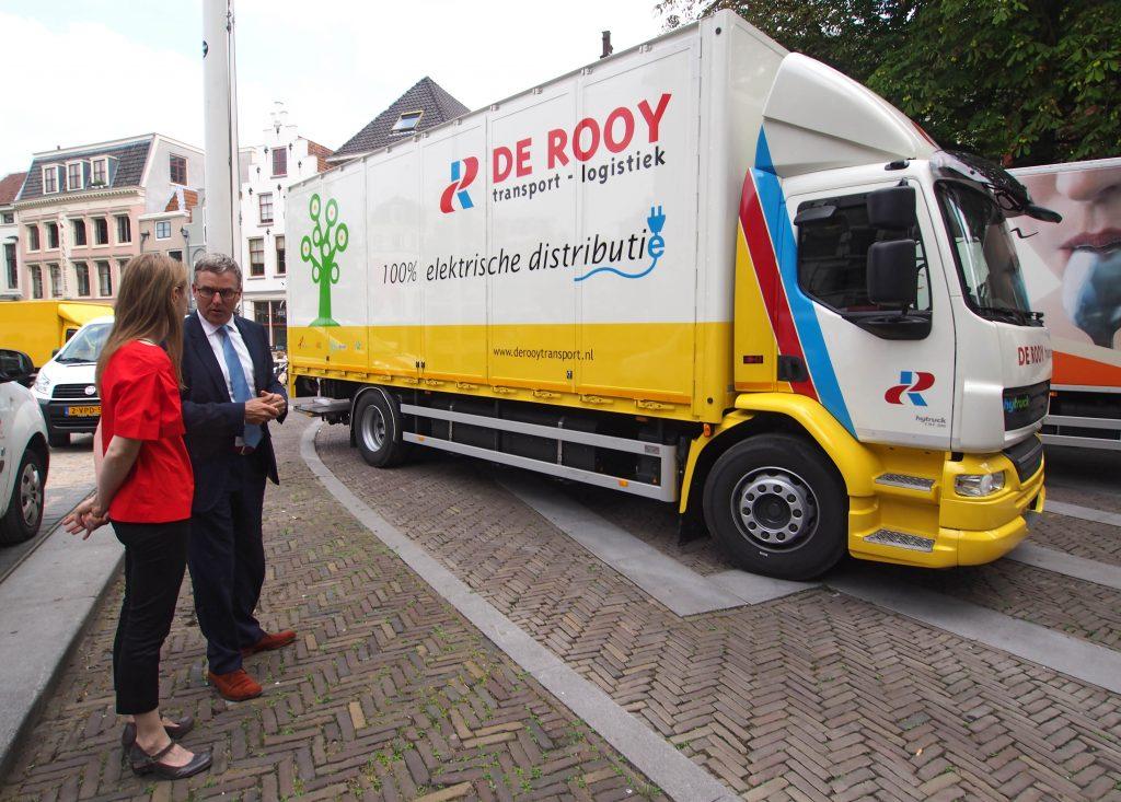Elektrische truck voor De Rooy