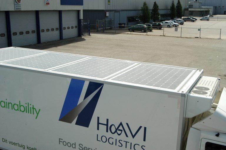 HAVI Logistics koelt met zonne-energie