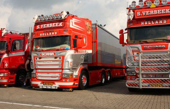 Scania Verbeek mooiste showtruck