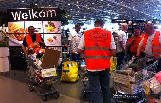 Chauffeurs 'plundra'  IKEA