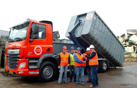 DAF CF Euro 6 voor Van der Putten recycling