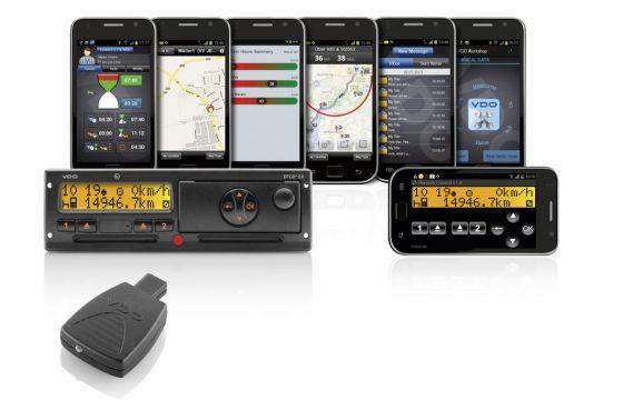 VDO toont noviteiten digitale tachograaf