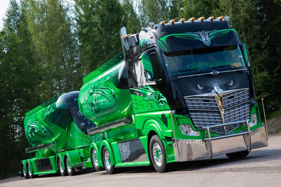 Abnormale Actros