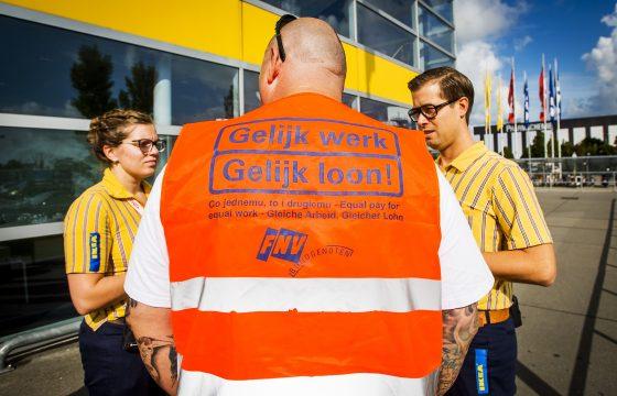 Actie in Rotterdam tegen verdringing