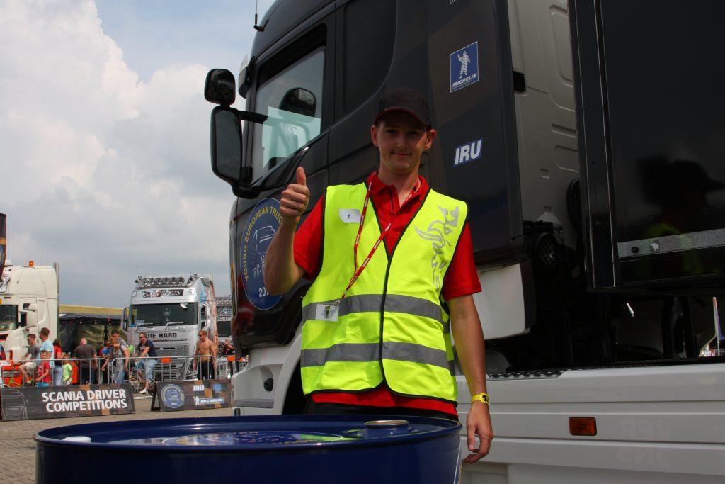 Kris Agten Belgische YETD-kandidaat