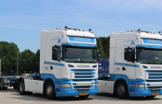 Scania R450's voor Verbruggen