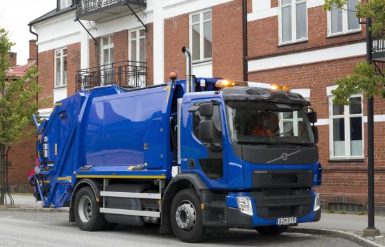 Volvo lanceert FE op CNG