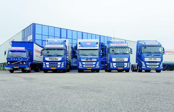 Volvo FM en FH voor D. Zonneveld