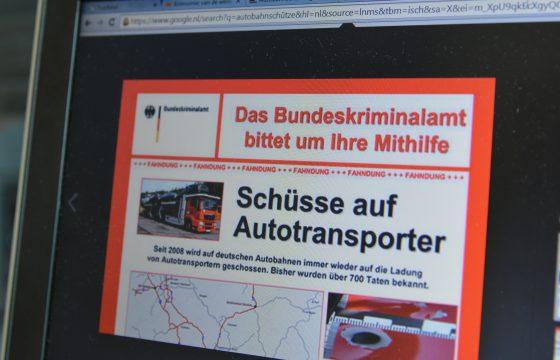 Duitse snelwegschutter legt verklaring af