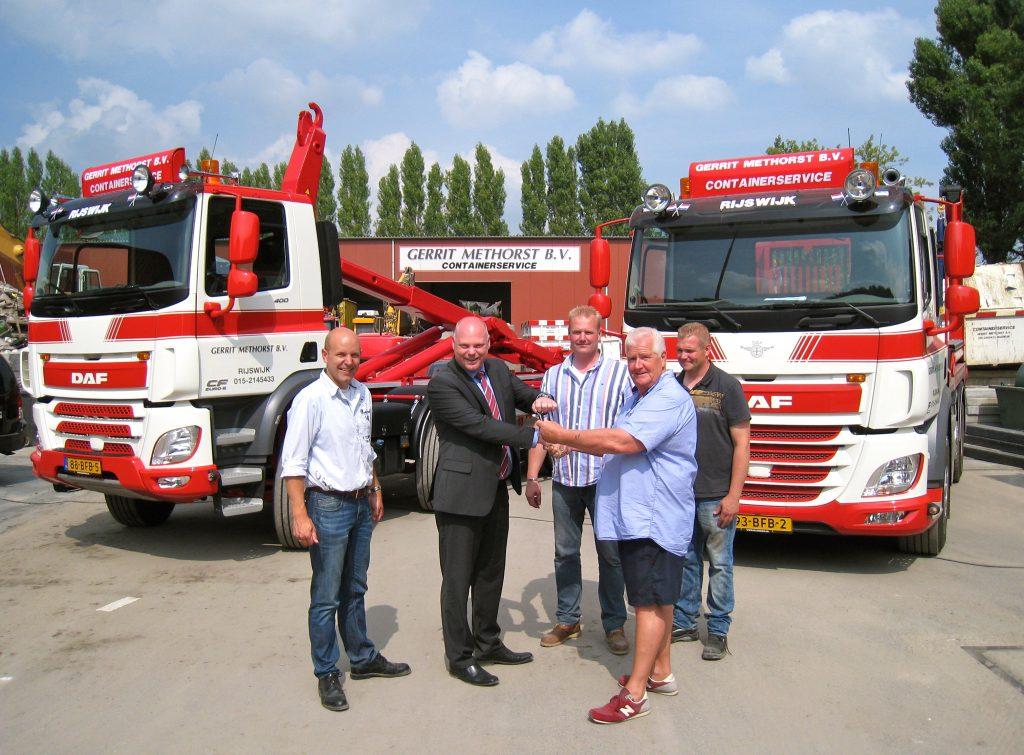 DAF CF's voor Gerrit Methorst