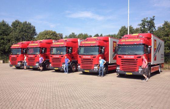 Nieuwe Scania G280's Jos Dusseldorp