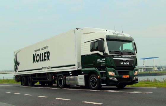 MAN TGX en nieuwe citytrailer voor Koller Transport