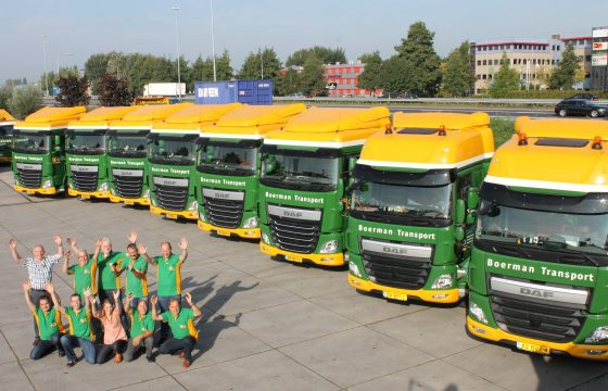 Boerman kiest voor nieuwe DAF trucks