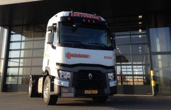 Renault T trucks voor Loetoning