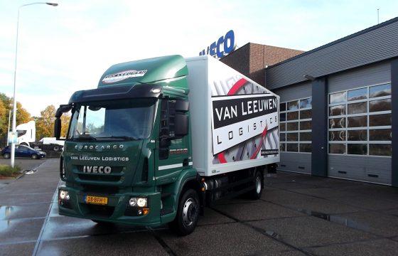 Vlotte Iveco EuroCargo voor Van Leeuwen