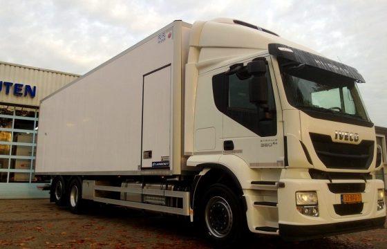 Nieuwe IVECO Stralis bakwagen voor AGF Express