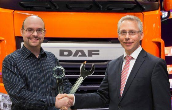 Beste DAF monteur komt uit Denemarken.