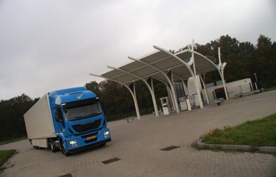 Iveco Stralis LNG voor Speksnijder