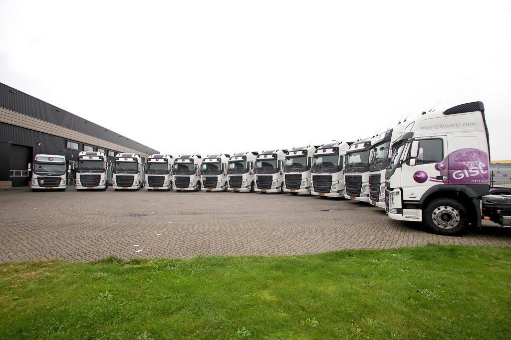 14 Volvo's voor Gist