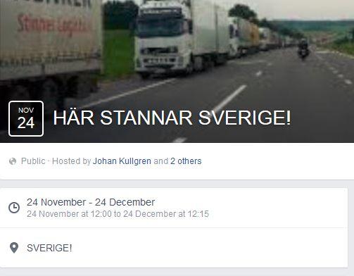 Zweedse chauffeurs komen in actie