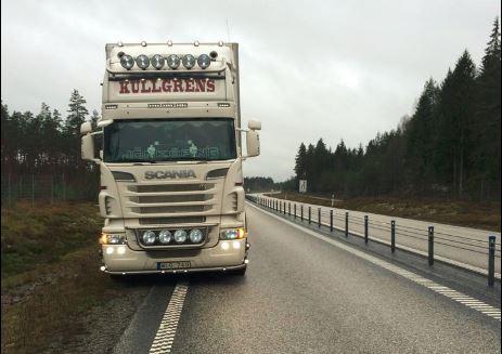 Zweedse chauffeurs staan stil