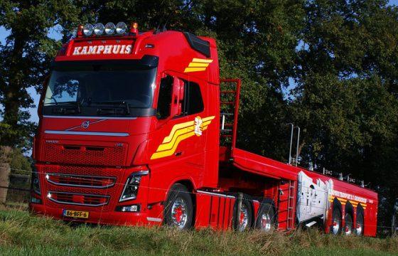 Volvo FH16 750 voor Kamphuis