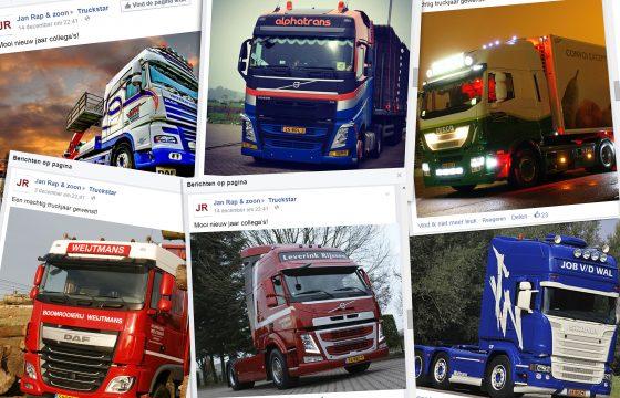 Facebookactie: Machtig Nieuw Truckjaar!