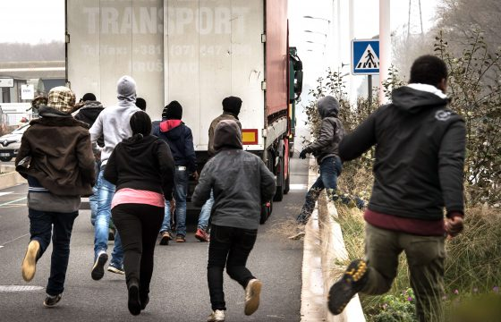 Meepraten in Calais