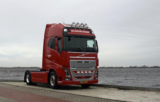 Volvo FH16 750 paradepaardje voor Oldenburger Transport