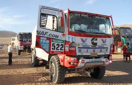 Goede prestaties en pech Ginaf Rally Power