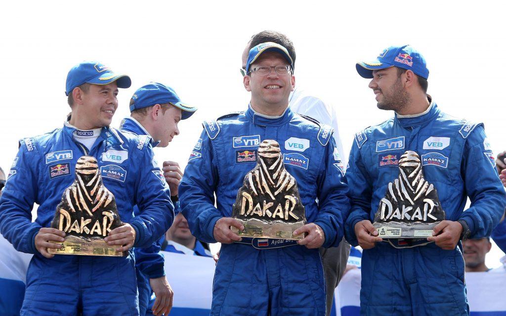 Kamaz-podium Dakar 2015