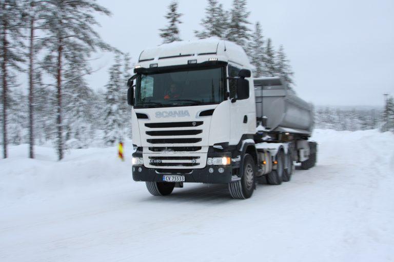 Op Noorse winterwegen met Scania