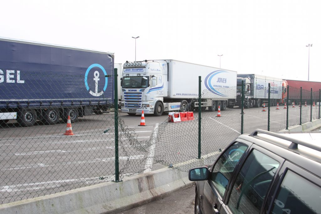 Truckstar bezoekt Calais