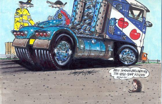 'Vrachtwagenchauffeurs zijn monsters'