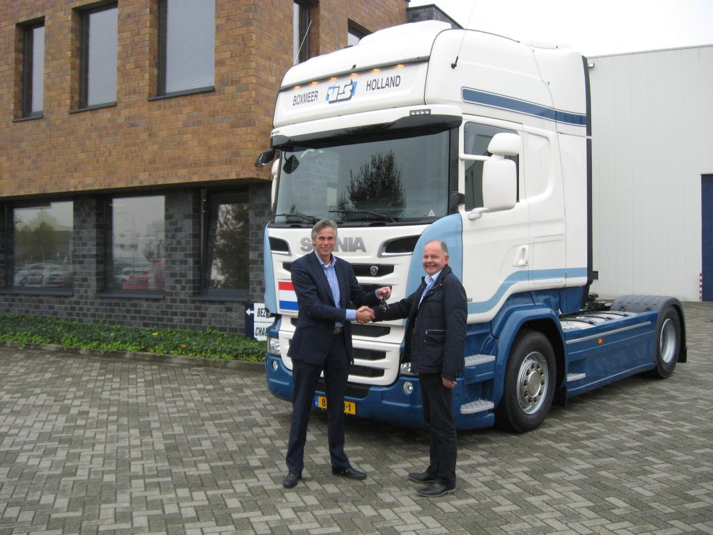 Scania's in wagenpark Verdijk