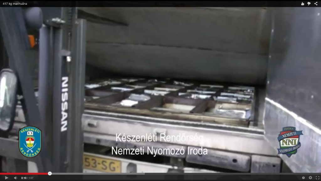 NL truck met drugs in Hongarije