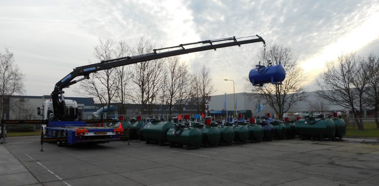 Soepele vierasser voor Tolsma Tanks