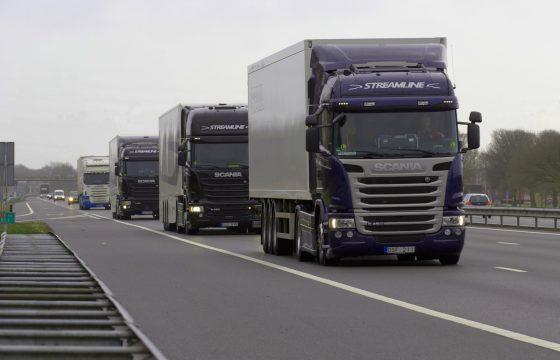 Eerste zelfrijdende trucks op openbare weg