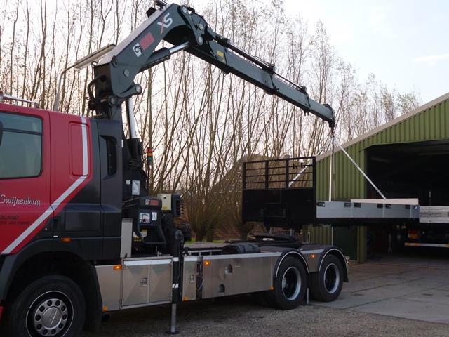 DAF bakwagen-trekker Swijnenburg