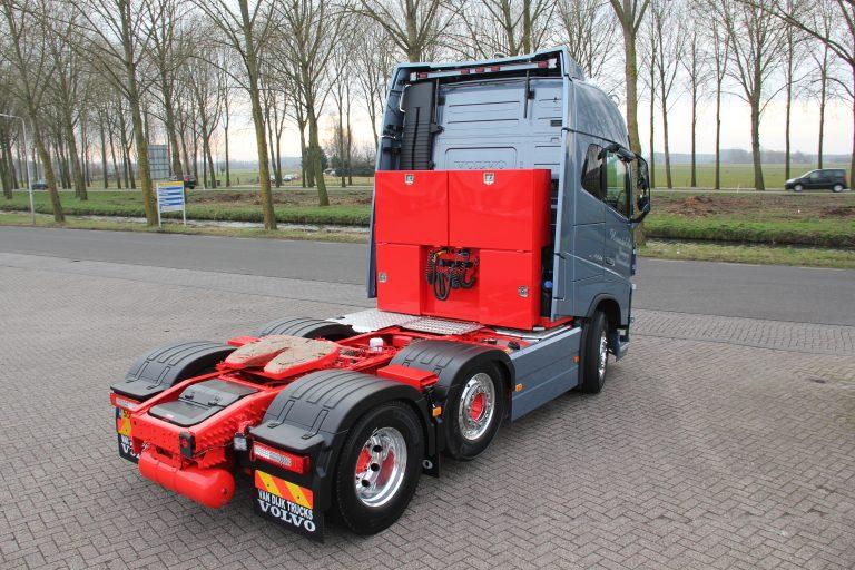 FH16 550 voor eigenrijder van der Ham