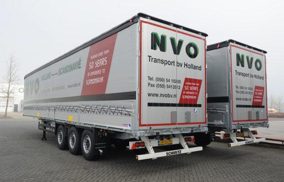 NVO koopt trailers van Schmitz Cargobull