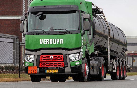 Renault T in vloot Verduyn Group